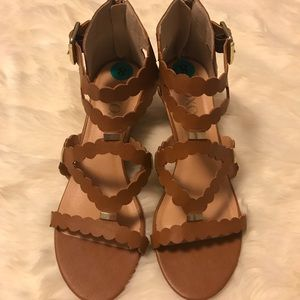 *XOXO* dressy wedge sandals